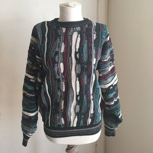 Vtg Alfani Multicolored Sweater